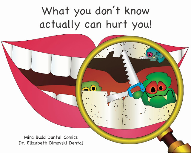 Dental Comic, dental jokes, dental info, dentist brampton,