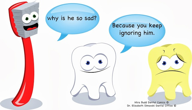 Dental Comic, Tooth Comic, Toothbrush Comic, Dentist Brampton, Dental Cartoon,