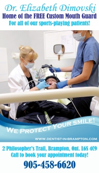 Brampton Dentists, Brampton Dental offices, Free Mouth Guards, Mouth Guard Coupons, Dental Specials,