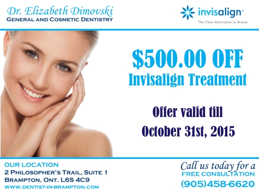 Dentists in Brampton, Invisalign Braces Brampton, Invisalign Coupon, Brampton Dental Offices, Top Dental Office in Brampton, Best Dentist in Brampton,